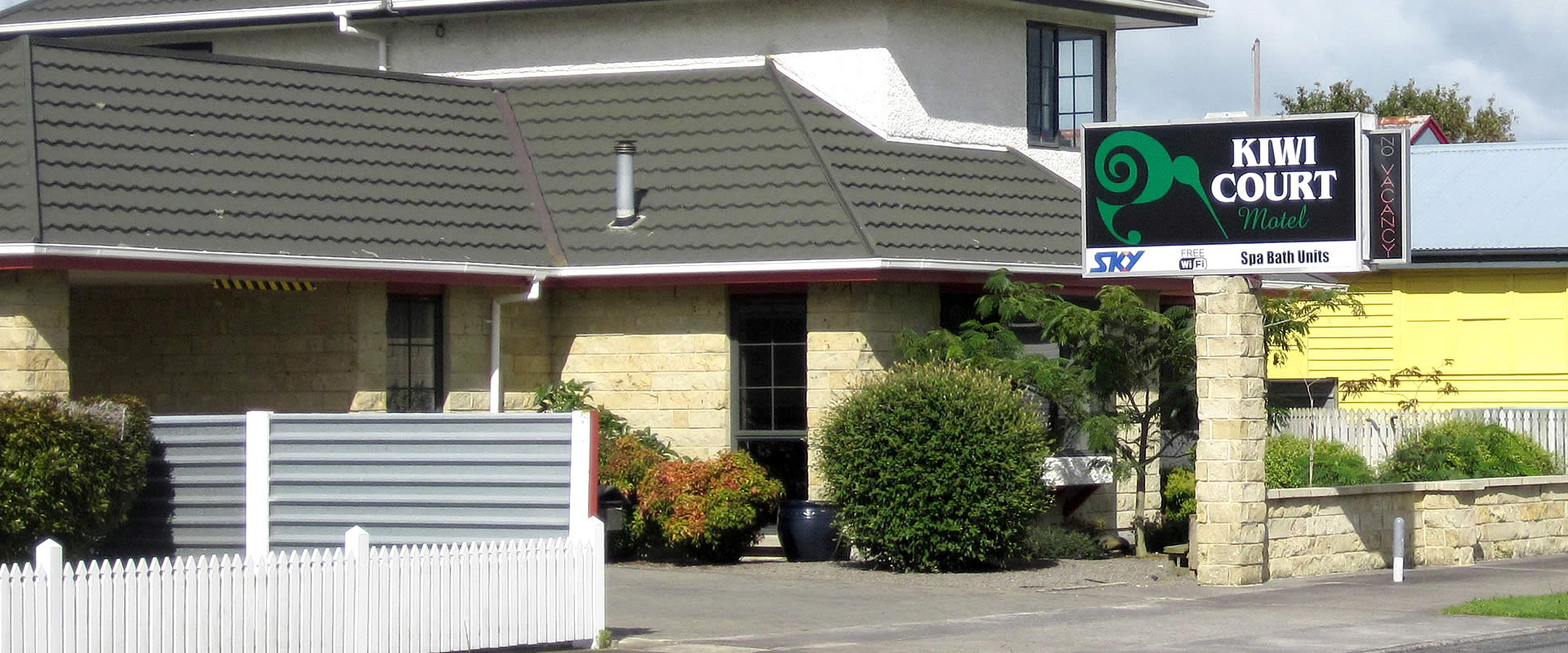 Kiwi Court Motel - Hawera Accommodation Street View